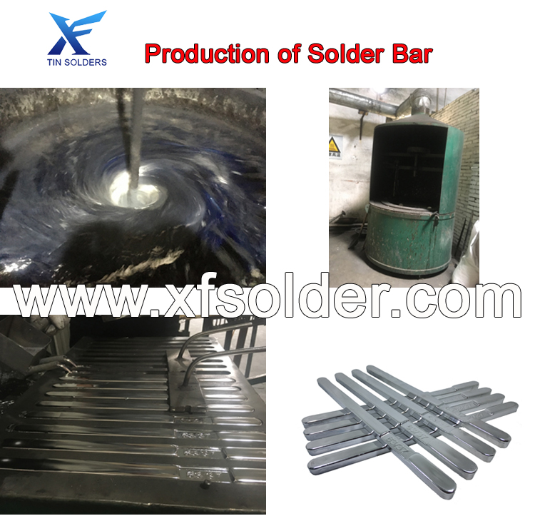 Production of Solder Bar