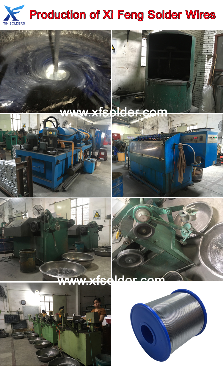 Production of Solder Wire