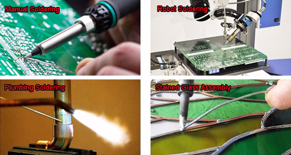 solder wire application